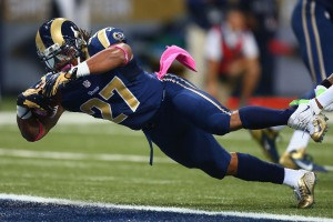 BESTPIX Seattle Seahawks v St. Louis Rams